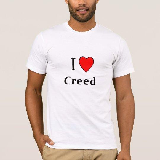 I Heart Creed T-Shirt