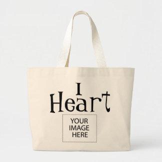 I Heart Customizable Tote Bag