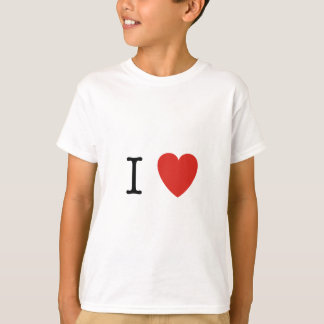 I Heart Customize Here T-Shirt