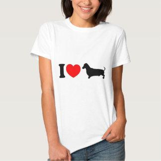I Heart Dachshund - Landscape Tshirt