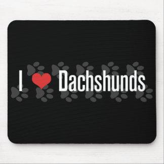 I (heart) Dachshunds Mouse Pad