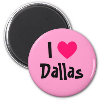 I Heart Dallas Magnet