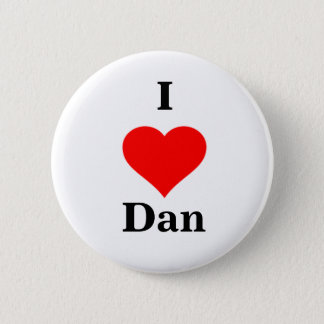 I Heart Dan Button