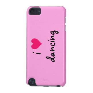 i heart dancing iPod touch 5G cases