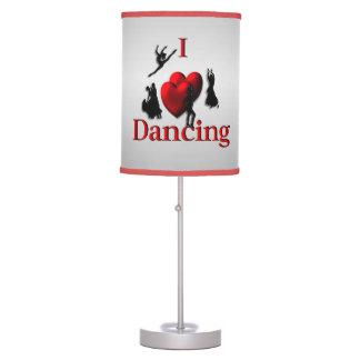 I Heart Dancing Table Lamp