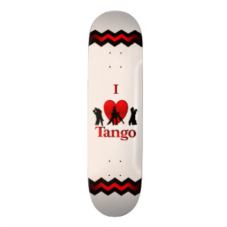 I Heart Dancing Tango Skate Decks
