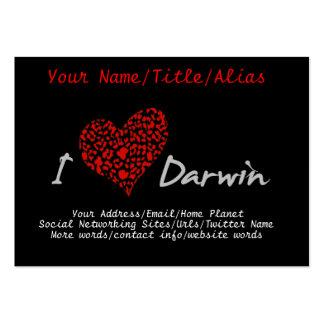 I Heart Darwin Business Card Template