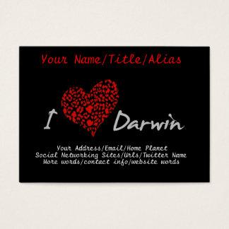 I Heart Darwin Business Card