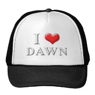 I Heart Dawn Hat 002