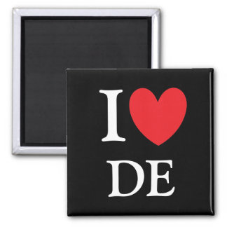 I Heart Delaware Magnet