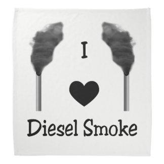 I Heart Diesel Smoke Bandana