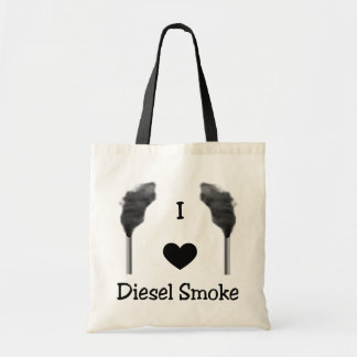 I Heart Diesel Smoke Tote Bag