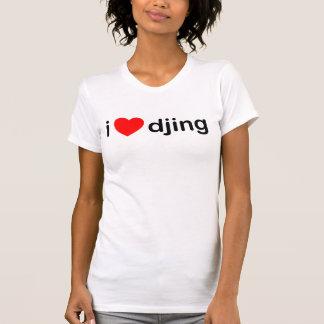 I Heart Djing Shirts