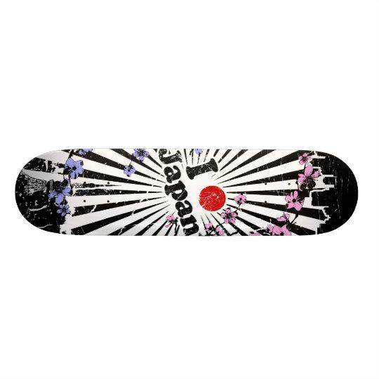 I heart (dot) Japan Skate Deck