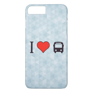 I Heart Driving A Bus iPhone 7 Plus Case