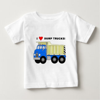 I HEART DUMP TRUCKS BABY T-Shirt