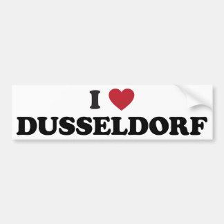 I Heart Dusseldorf Germany Bumper Sticker