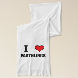 I Heart Earthlings Scarf