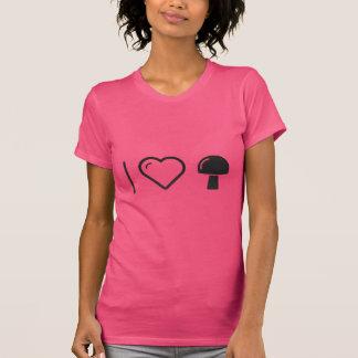 I Heart Eating Mushrooms Shirts