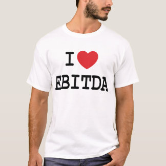 I (heart) EBITDA T-Shirt