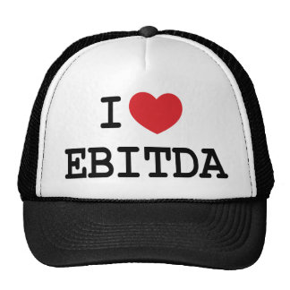 I (heart) EBITDA Trucker Hat