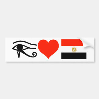 I Heart Egypt Bumper Sticker