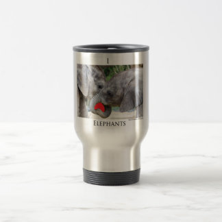 I(heart)elephants Travel Mug