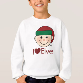 I Heart Elves Christmas Sweatshirt