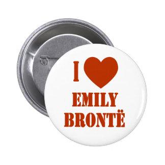 I Heart Emily Bronte 2 Inch Round Button
