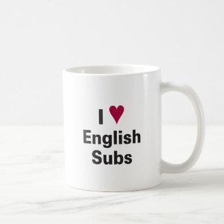 I Heart English Subs Mug