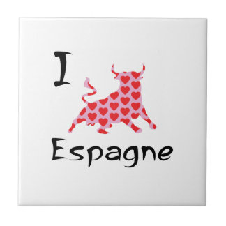 I heart Espagne Tile