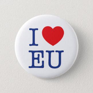 """""""I Heart EU"""" Badge / Pin / button"""