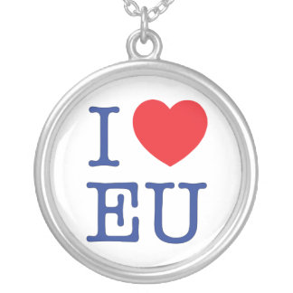I Heart EU Necklace