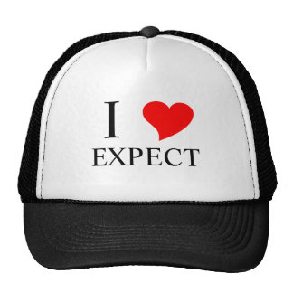 I Heart EXPECT Mesh Hats