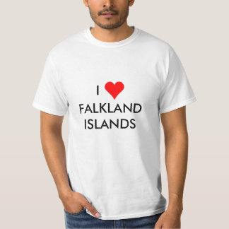 i heart falkland islands T-Shirt