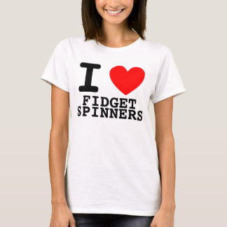 I Heart Fidget Spinners T-Shirt