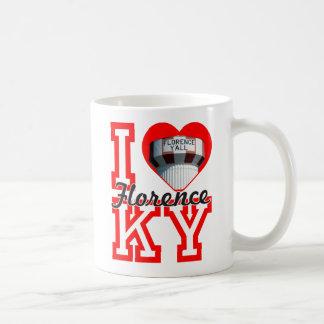 i heart florence mug