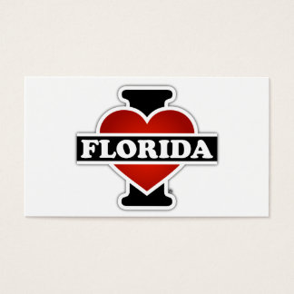 I Heart Florida Business Card