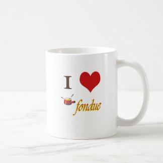 i heart fondue coffee mug
