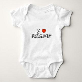 I Heart Fremont Baby Bodysuit