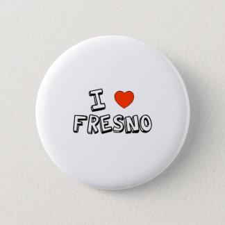 I Heart Fresno 2 Inch Round Button