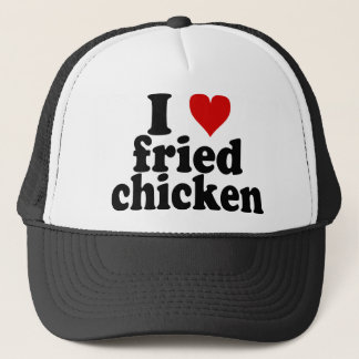 I Heart Fried Chicken Trucker Hat