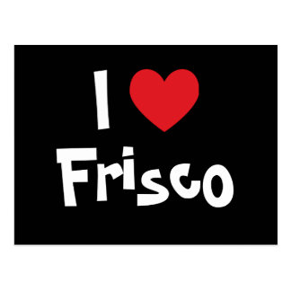 I Heart Frisco Postcard