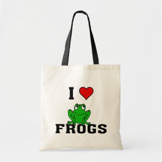 I Heart Frogs Tote Bag