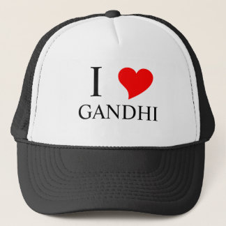 I Heart GANDHI Trucker Hat
