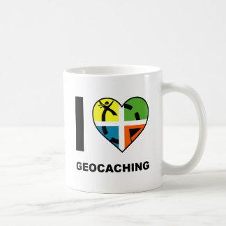 I Heart Geocaching Funny Mug