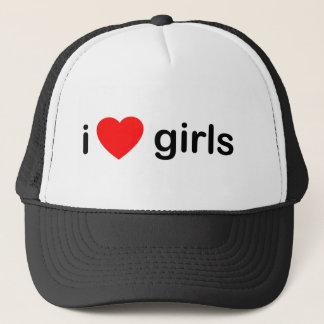 I Heart Girls Trucker Hat