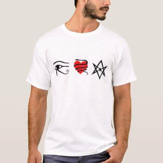 I Heart (Girt with a Serpent) Thelema T-Shirt