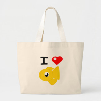 I Heart Goldfish Plushies Tote