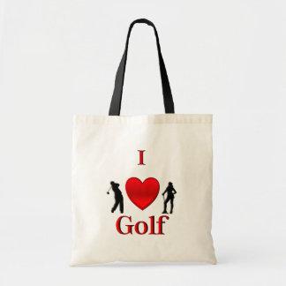 I Heart Golf Tote Bag